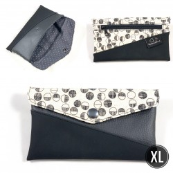 "Handytasche ""Black Circles"" XL"