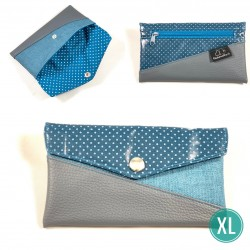 "Handytasche ""Little Petrol Dots"" XL"