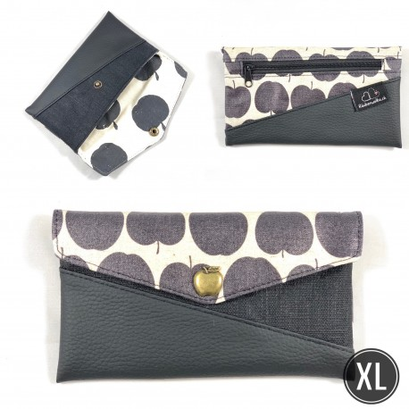 "Handytasche ""Black Apple I"" XL"