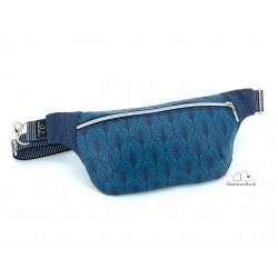 "Bauchtasche ""Blue Leaves"""
