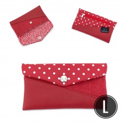 "Handytasche ""Red Dots"" L"